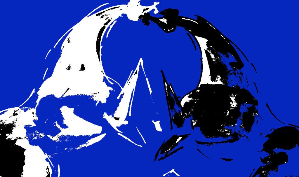 Incontro in blu